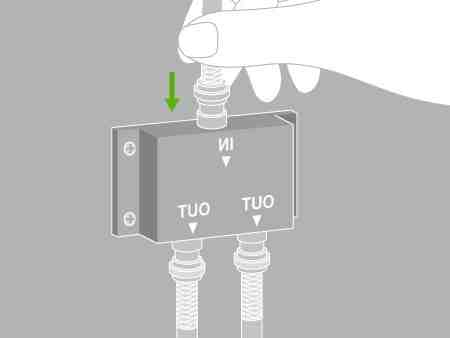 Comment brancher prise antenne TV murale ?
