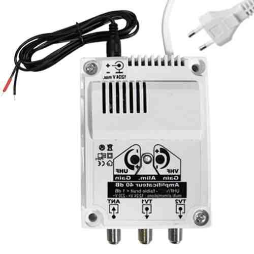 Ou brancher un amplificateur d'antenne ?